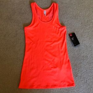 Under Armour Fitted HeatGear Tank Top NWT Small